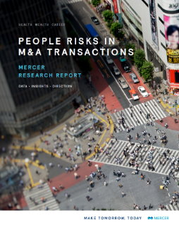 M&A People Risk Research Report