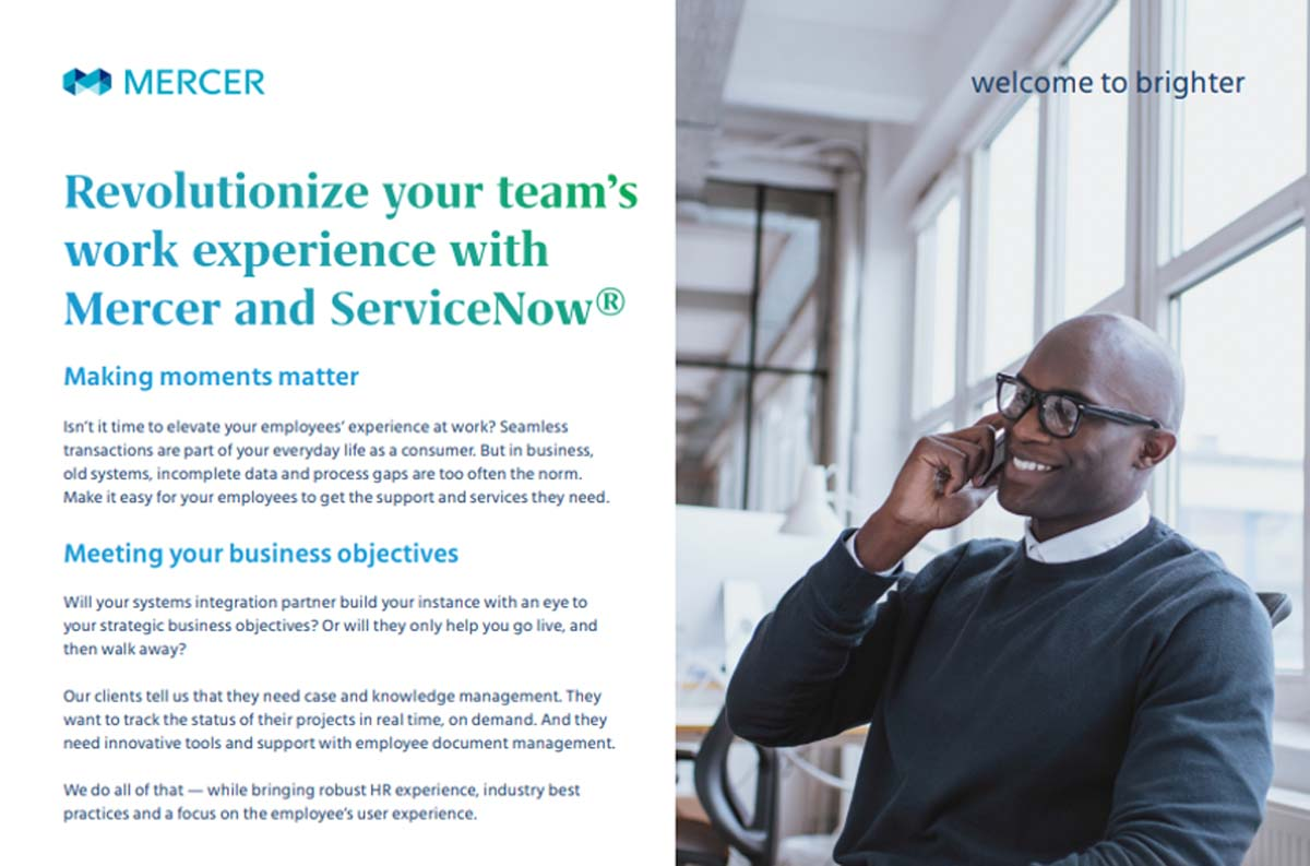 Servicenow Implementation Hr Service Delivery